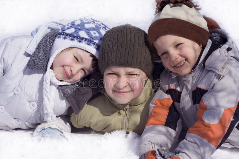 счастливые малыши стоковая фотография rf