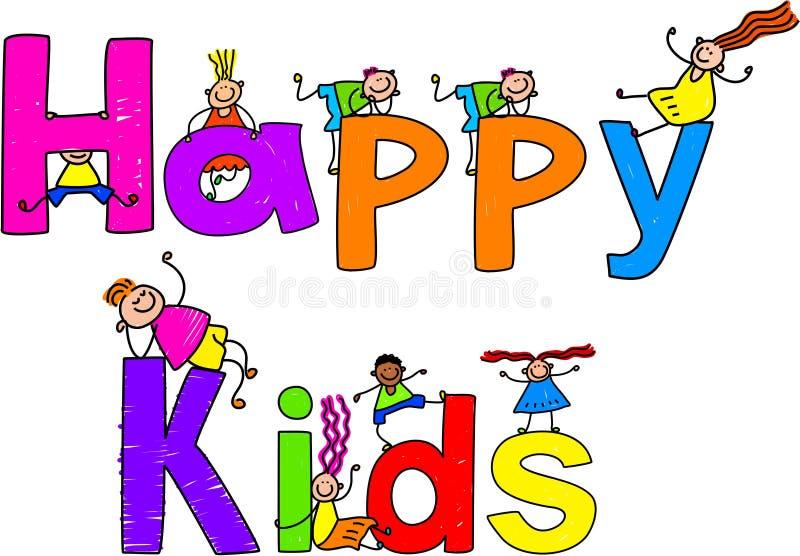 счастливые малыши бесплатная иллюстрация