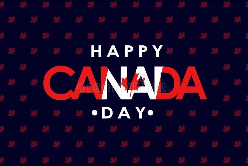Счастливый день Канады стоковое изображение rf