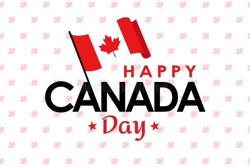 Счастливый день Канады стоковая фотография