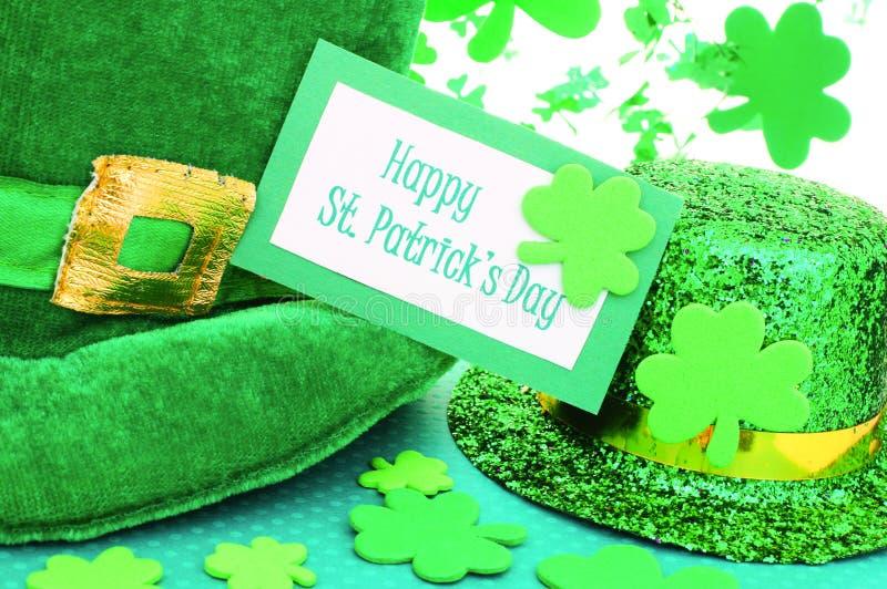 Счастливый день St Patricks стоковые изображения rf