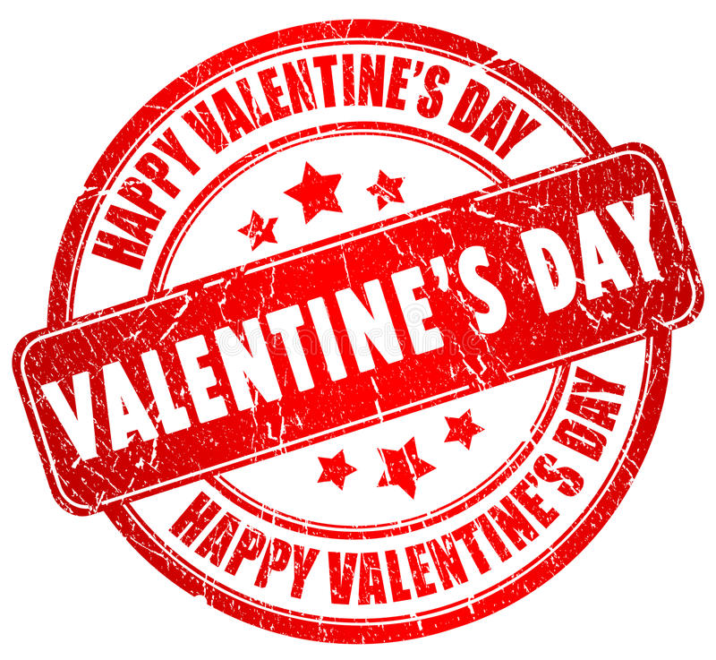 Счастливый день valentines иллюстрация вектора