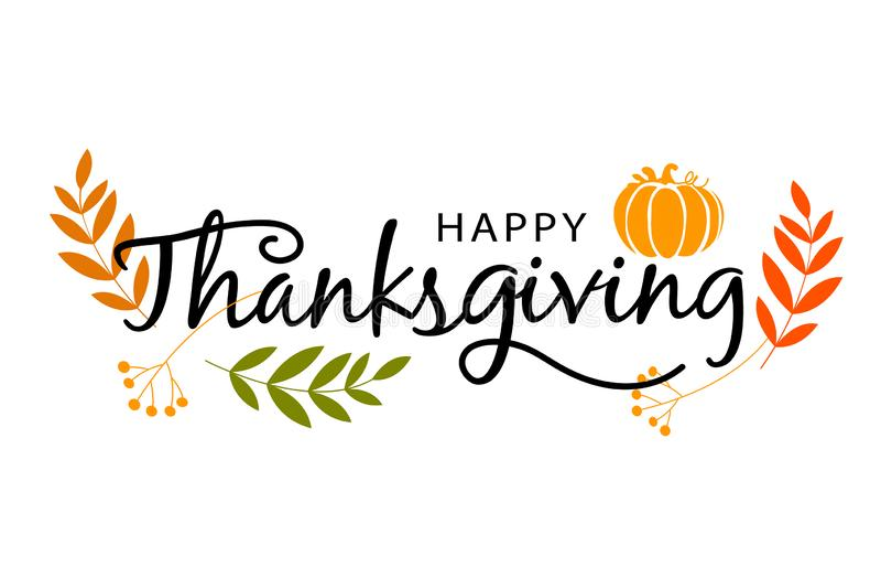 Счастливый знак благодарения стоковое изображение rf