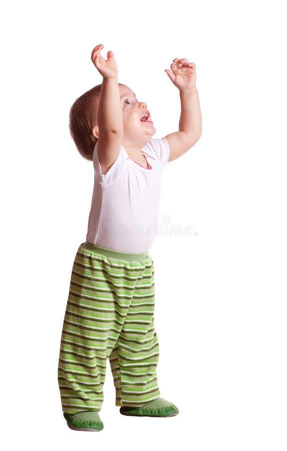 счастливый малыш стоковая фотография rf