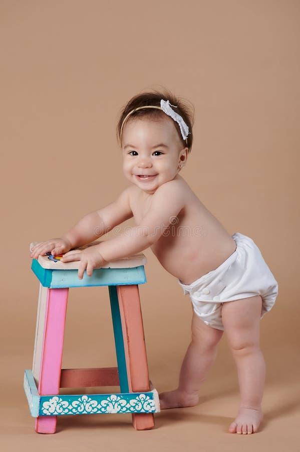 Счастливый милый ребенок стоковое фото rf