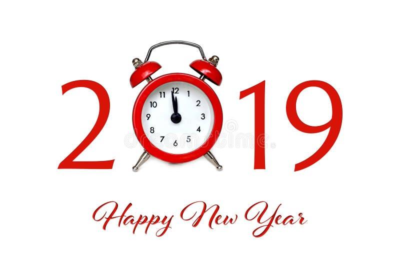 Счастливый Новый Год 2019 стоковое изображение