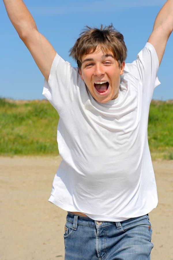 счастливый подросток стоковое изображение