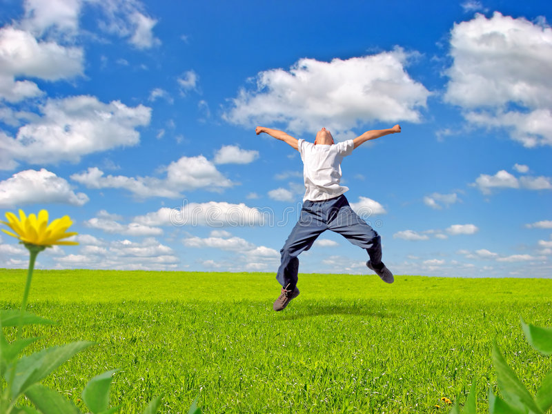 счастливый подросток стоковые изображения rf