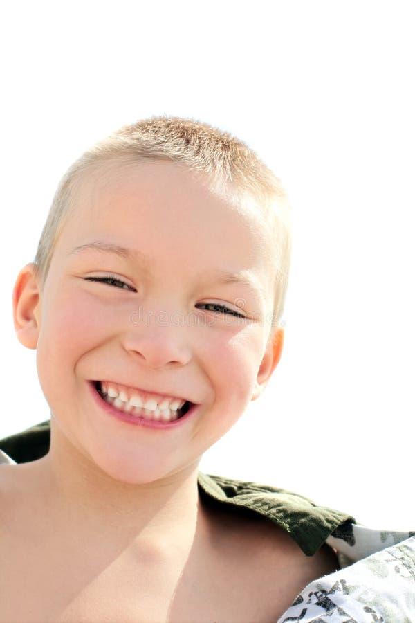 счастливый портрет малыша стоковое изображение