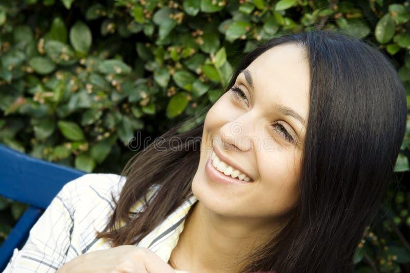 счастливый портрет стоковая фотография