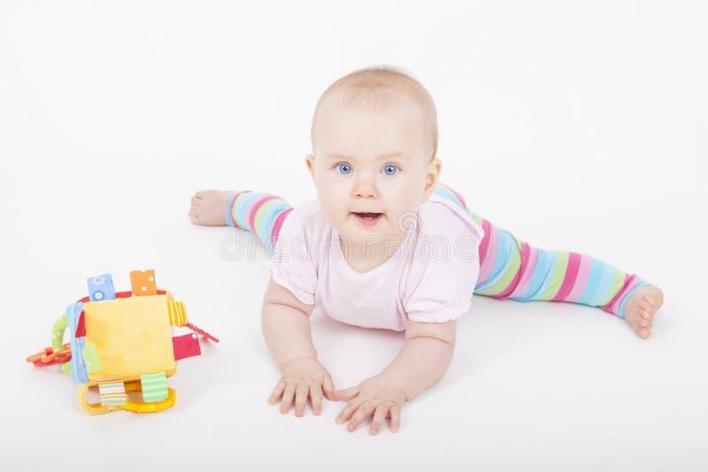 Счастливый ребёнок стоковая фотография