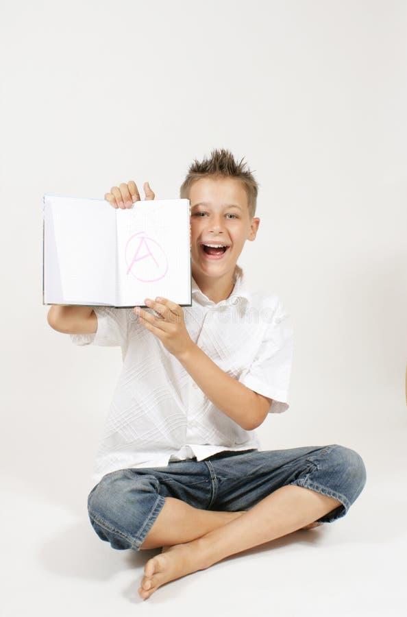 счастливый студент стоковые изображения
