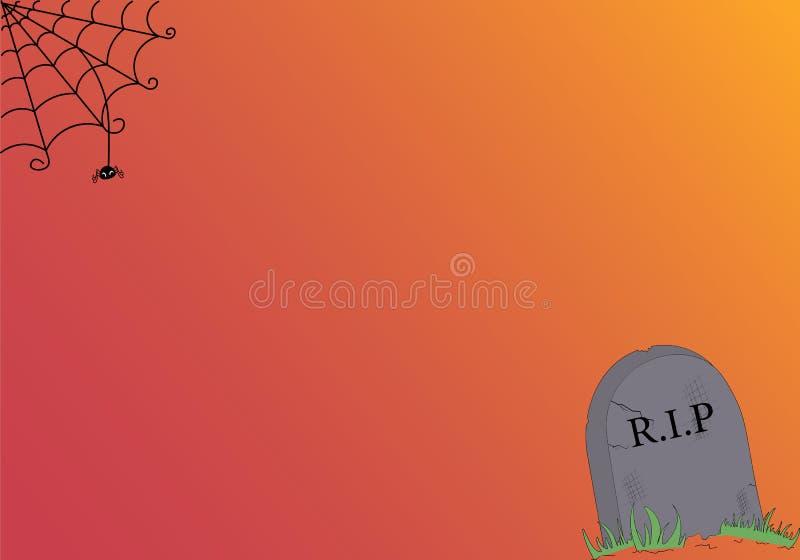 Счастливый хеллоуин! карточка желания стоковые фотографии rf
