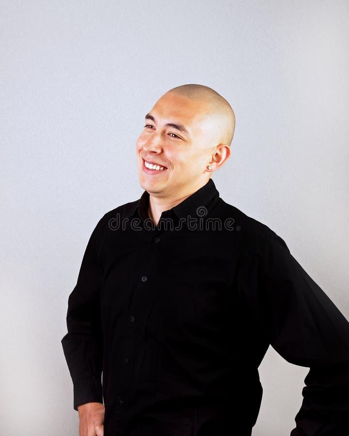 счастливый человек очень стоковое изображение rf