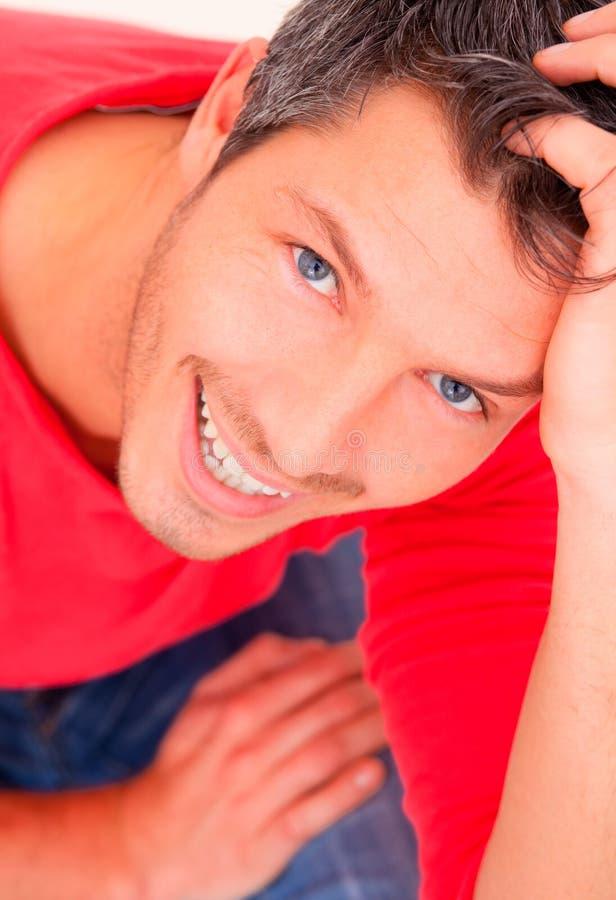счастливый человек стоковые изображения