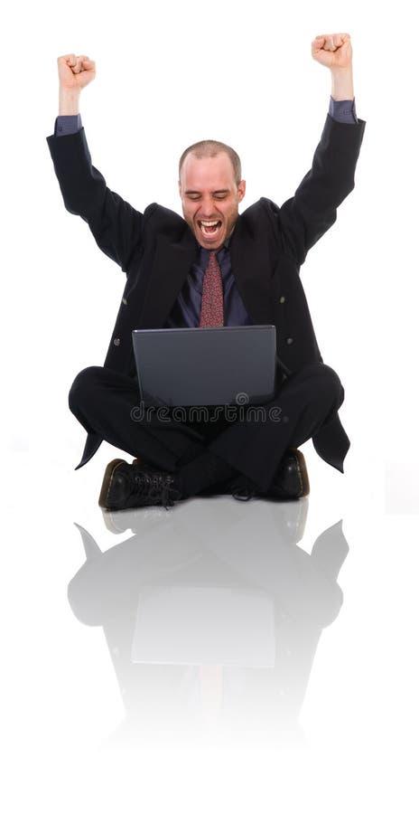 счастливый человек стоковое фото rf