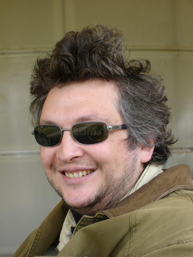 счастливый человек стоковое изображение
