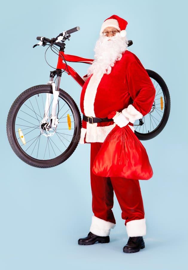 счастливый santa стоковое изображение rf