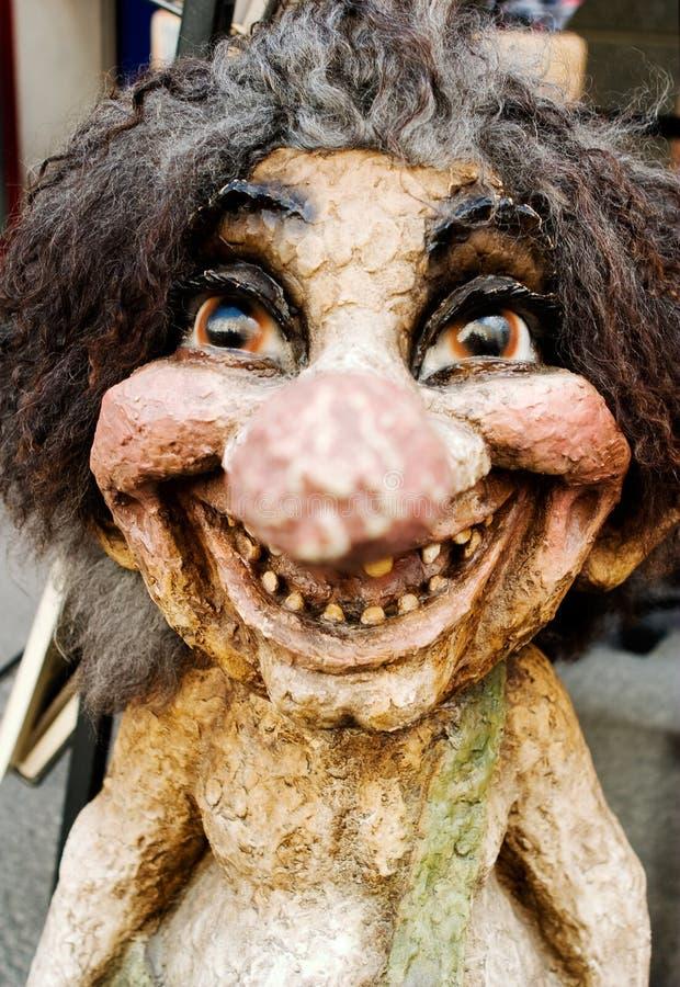 счастливый troll стоковая фотография