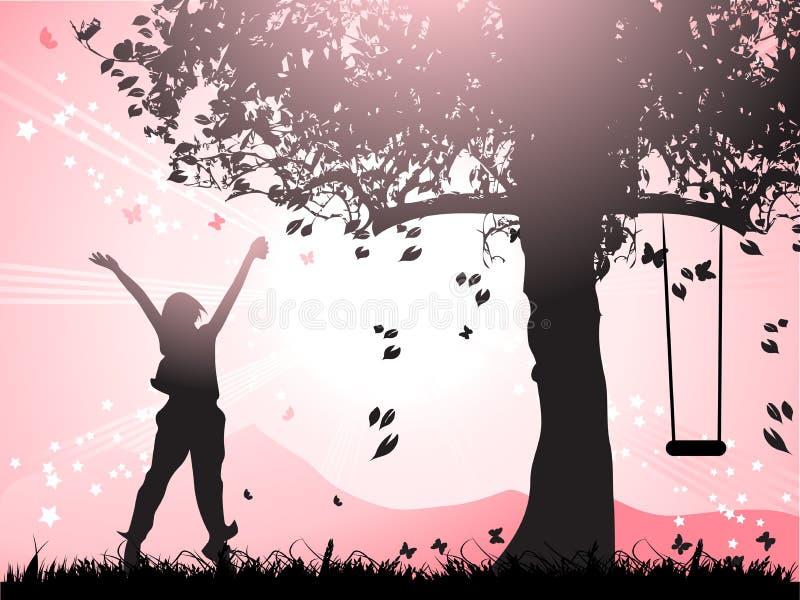 счастлив бесплатная иллюстрация