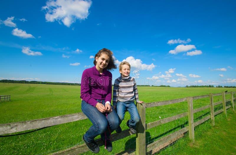 счастье детей стоковое фото rf