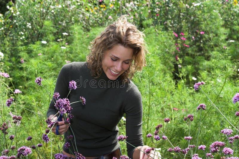 счастье сада стоковое фото