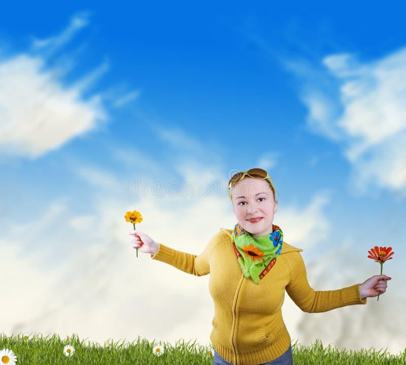 счастье свободы стоковое изображение