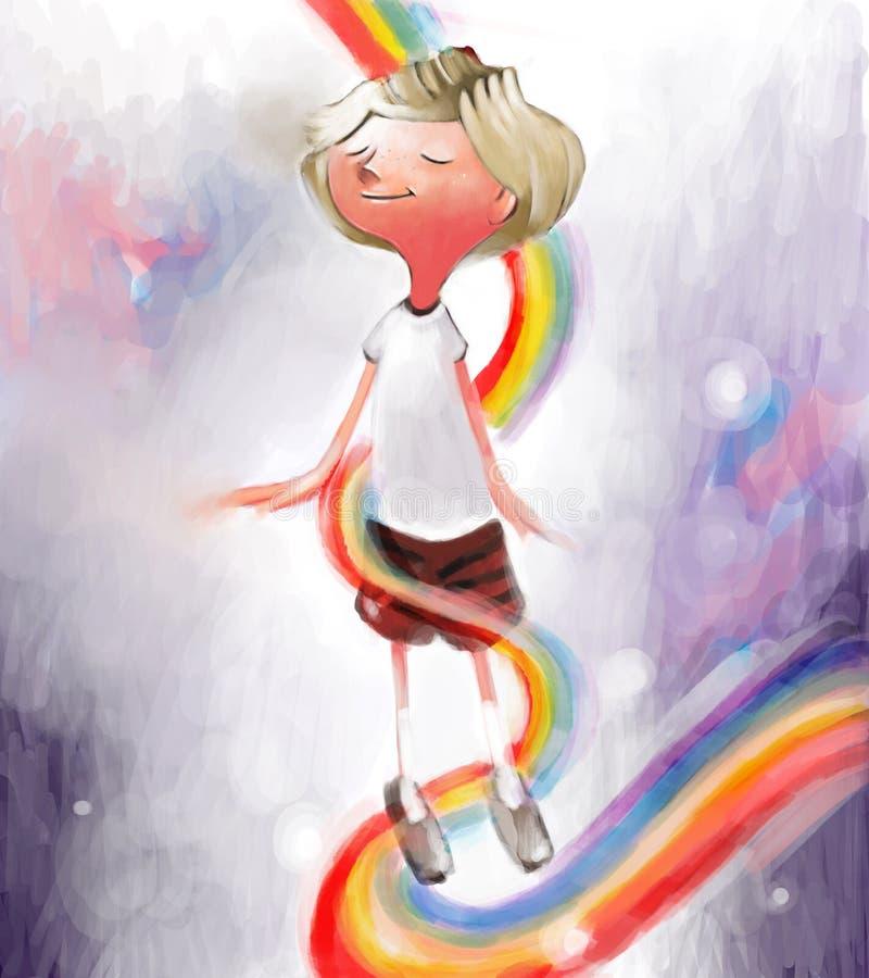 счастье бесплатная иллюстрация