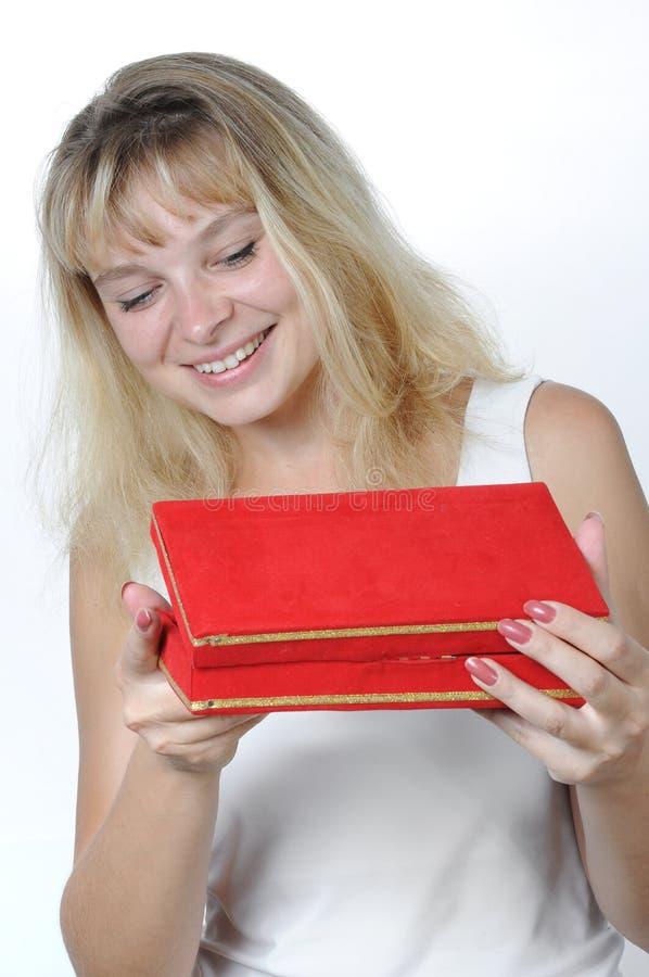 счастливая женщина стоковые изображения rf