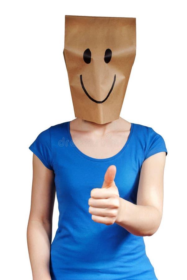 Счастливая персона стоковое изображение rf
