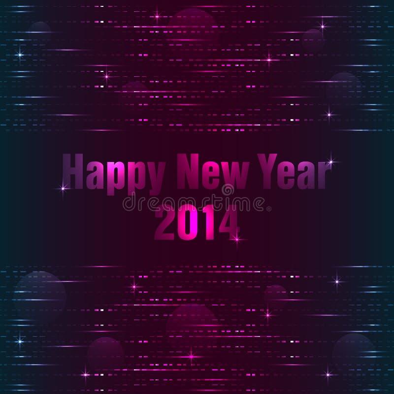 Download Счастливая предпосылка Нового Года Иллюстрация вектора - иллюстрации насчитывающей рождество, цвет: 33725192