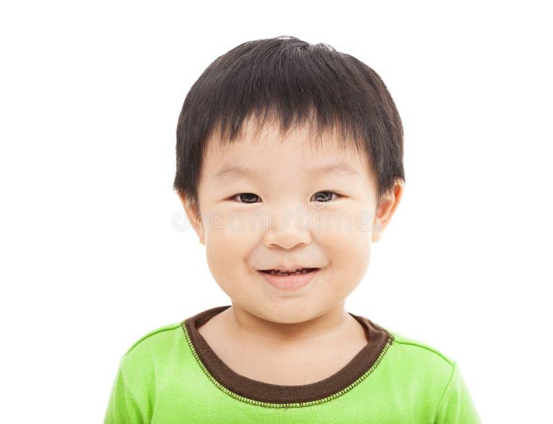 Счастливая сторона мальчика стоковые фотографии rf