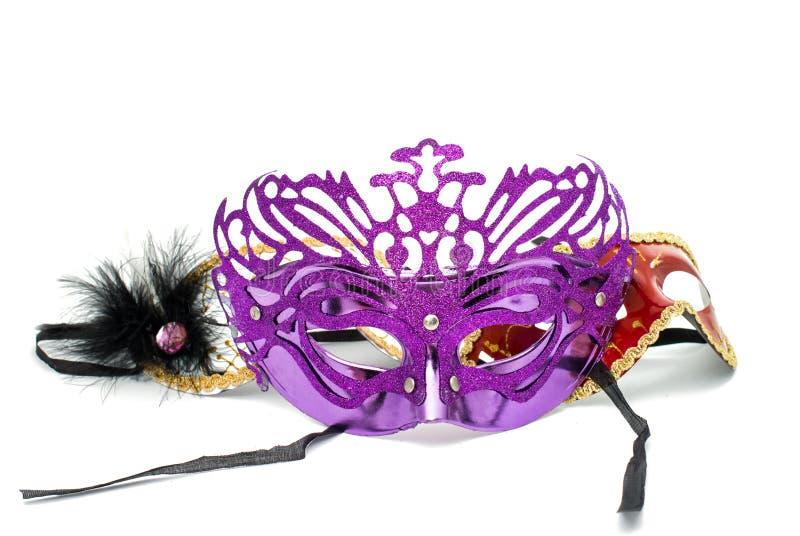 счастливое Новый Год masquerade маски стоковая фотография