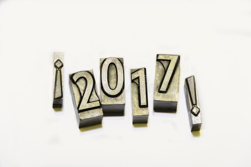 Счастливое 2017 стоковые изображения