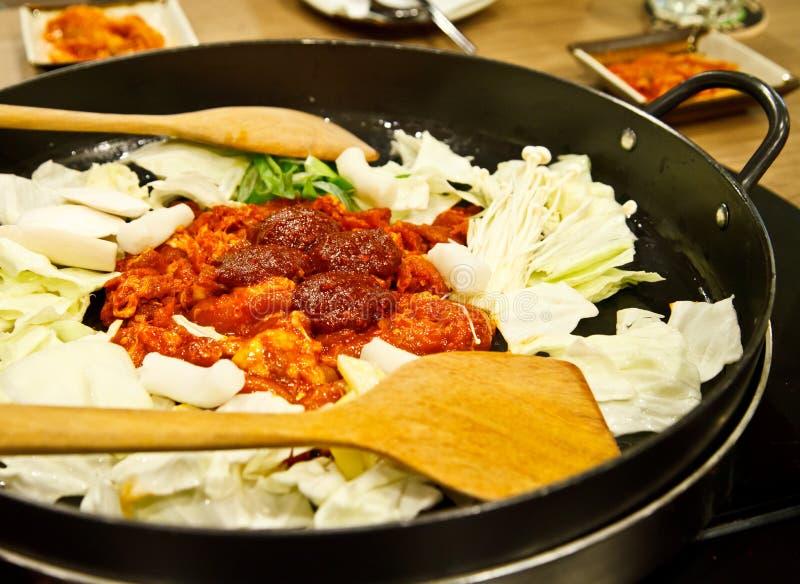 Еда Кореи стоковое изображение