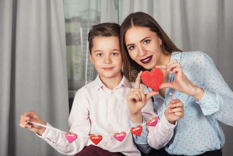 Счастливые валентинки или день матери стоковое изображение