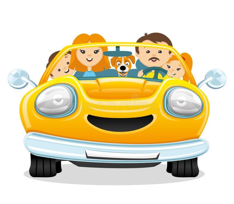 напоминанием картинки семья едет на машине раньше был