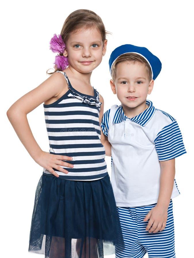 Счастливые дети дошкольного возраста стоковые фотографии rf