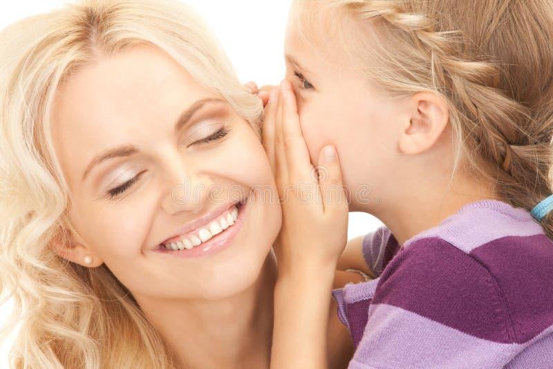 Счастливые мать и ребенок стоковое фото rf