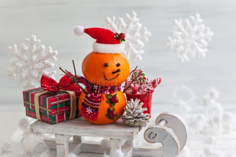 счастливые снеговики стоковые изображения