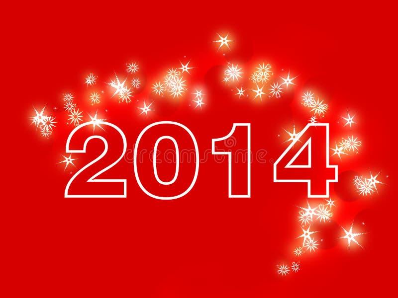 Счастливый Новый Год 2014 стоковые фото