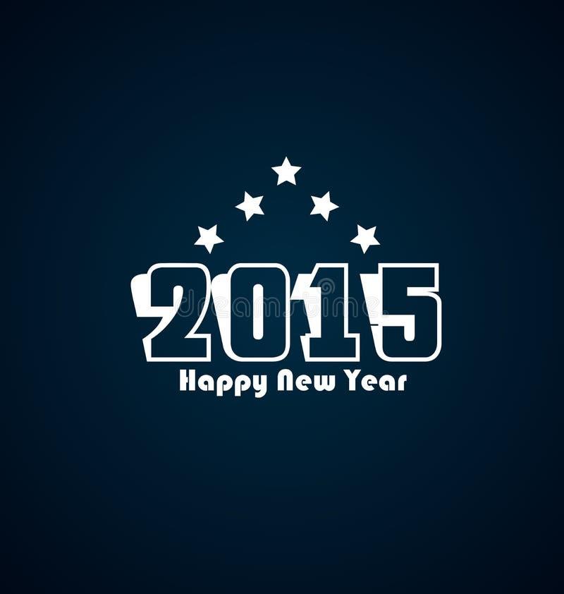 Download Счастливый Новый Год 2015 иллюстрация вектора. иллюстрации насчитывающей холодно - 41651128