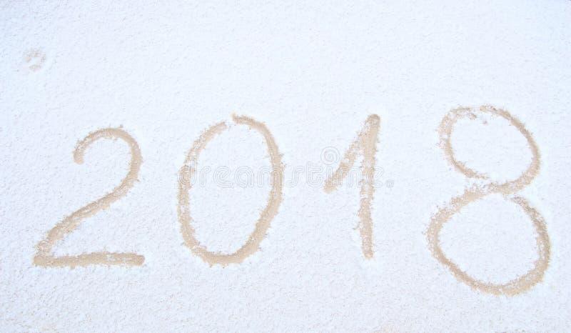 Счастливый Новый Год, 2018 стоковое фото
