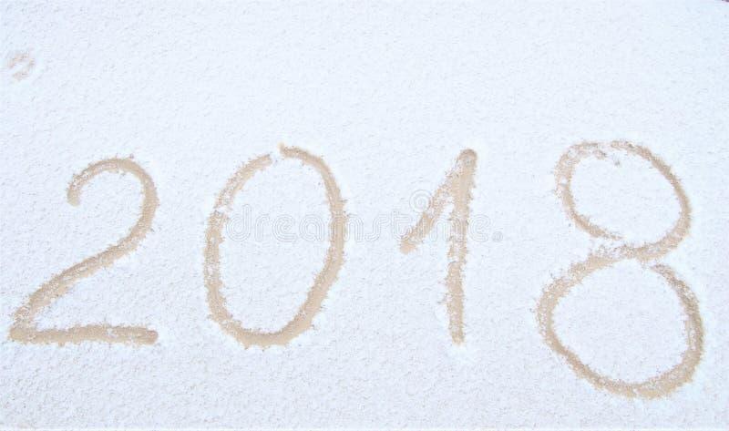 Счастливый Новый Год, 2018 стоковые изображения