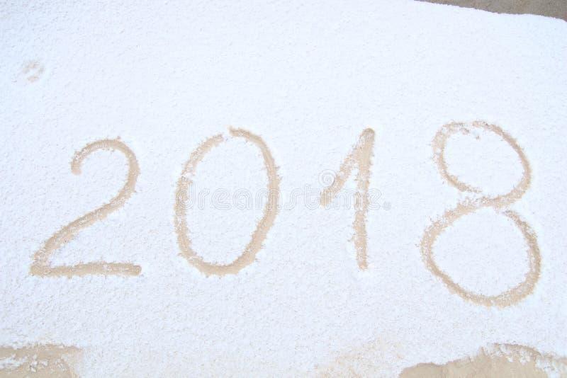 Счастливый Новый Год, 2018 стоковые фото