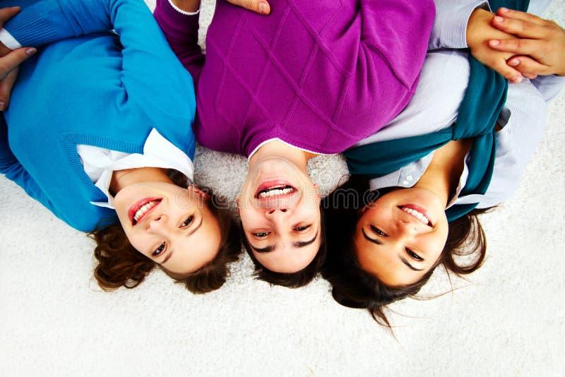 Счастливый подросток стоковое изображение rf