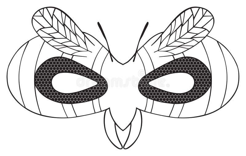 картинки маска мухи распечатать одной