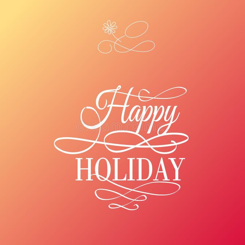 Download счастливый праздник иллюстрация вектора. иллюстрации насчитывающей подарок - 41661301