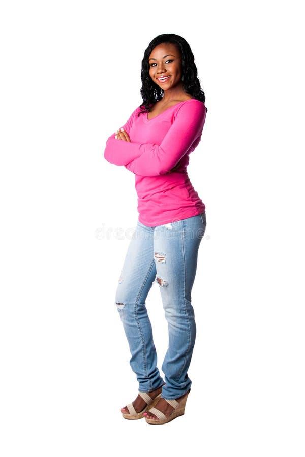 Счастливый студент колледжа подростка стоковое изображение