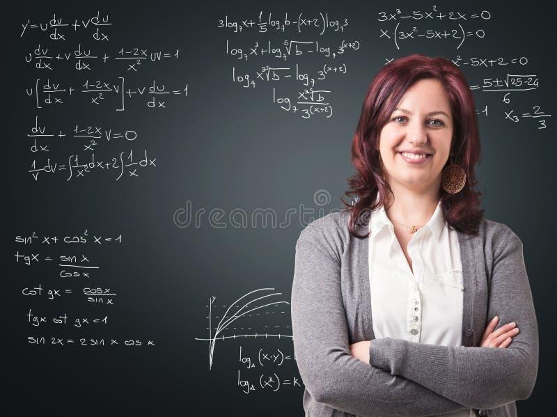 счастливый учитель стоковое изображение rf